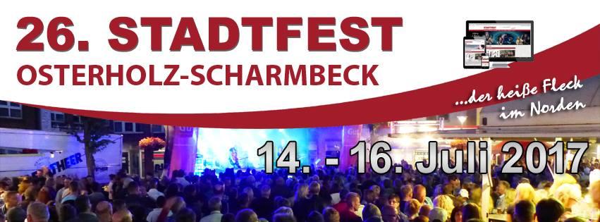 Boschen Eventtechnik liefert zwei Bühnen für das Stadtfest in Osterholz-Scharmbeck